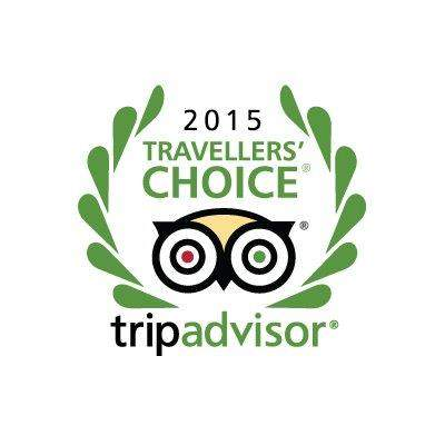 Trip Advisor 2015 Traveller's Choice Award